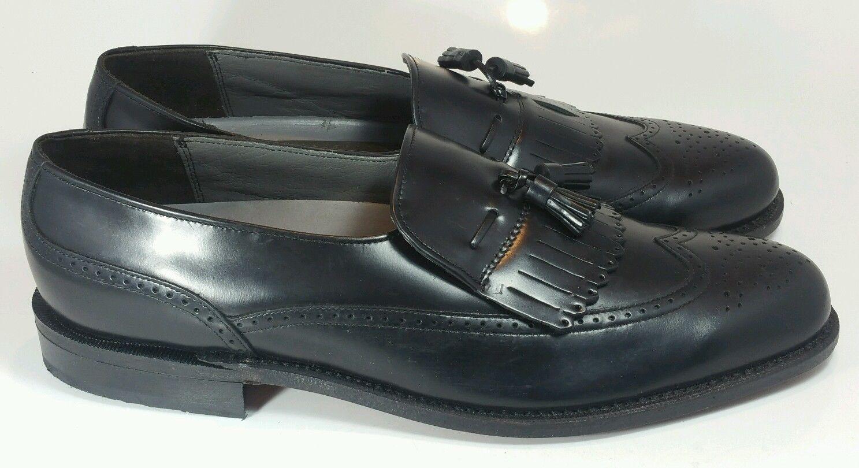 tassel dress loafer shoes made in usa black s