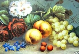 Fruit and Flowers II By Steele - $50.00