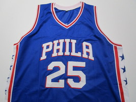 BEN SIMMONS / 2021 NBA ALL-STAR / AUTOGRAPHED 76ERS BLUE CUSTOM JERSEY / COA image 2