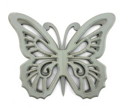 4.25 X 18.5 X 23.25 Gray Rustic Butterfly Wooden Wall Decor - $93.33