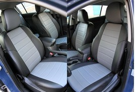 AUDI Q3 I (2010-2014) SEAT COVERS PERFORATED LEATHERETTE  - $173.25