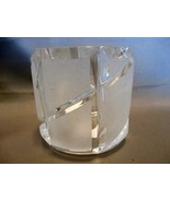 "Lead Crystal frosted Glass Votive Tea Light Candle Holder - 2-1/2"" - $4.99"