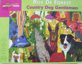 Roy De Forest Country Dog Gentleman Puzzle - $12.00