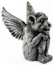Winged Dog Gargoyle Statue  - $205.00