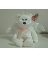 Ty Beanie Babies NWT Halo the White Bear Retired - $6.00