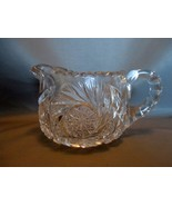 American Brilliant Cut Glass ABP Creamer Pinwhe... - $30.00
