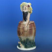 Twin Winton Hillbilly Figurine Skinny Clem Piggy Bank Made in Japan 1950s Scarce image 4