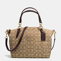 Coach Kelsey signature small Khaki/ brown Style... - $158.00