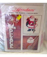 Winking Santa Wall Hanging Plastic Canvas Kit 5... - $24.99