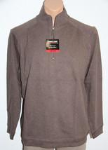 *NEW Kirkland Signature 1/4 zip Cottom Pullover Sweater L Large #679 - $4.84