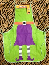 Diva Hostess Gift-WICKED WITCH COSTUME APRON-Halloween Party Kitchen Dec... - ₨195.17 INR