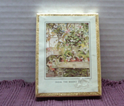 Vintage ANTIOCK BOOKPLATE COMPANY Greenhouse/Flowers/Plants Book Plates - $8.50