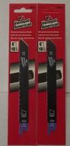 "Vermont American 30110 6"" x 18 TPI HSS Recip Blades 2pcs. Swiss - $2.50"