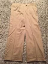 Women's Talbots Petites Stretch Wool/Lycra/Spandex Lined Pants, Size 14 - $33.99