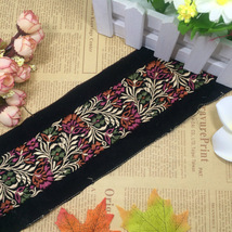 miao hmong embroidery lace trim dress collar ri... - $9.00