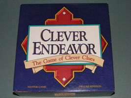 1989 Clever Endeavor Game - $25.20
