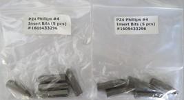 "Bosch 1609433296 #4 x 1"" x 5/16"" Screw Bits 2-5Pks. USA - $3.00"
