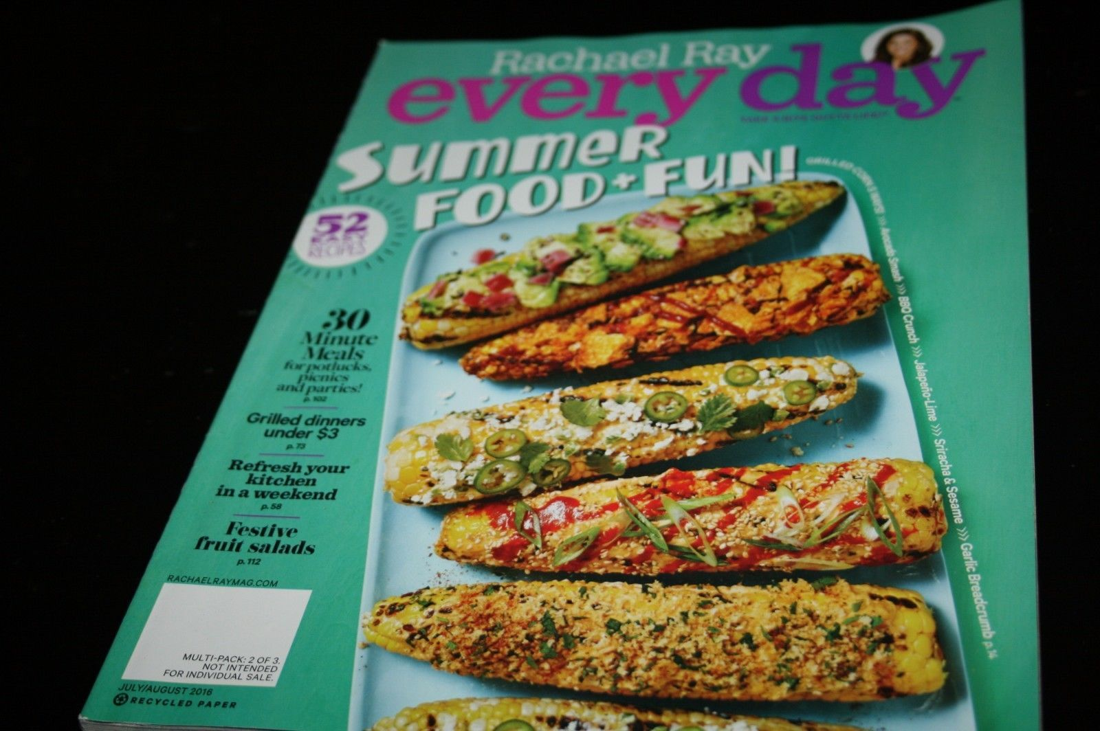 Every Day with Rachael Ray - July/Aug 2016-Summer Food & Fun-30 ...
