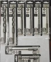 Master Mechanic 282-780 8pc SDS Plus Masonry Drill Bit Set 1/4 to 1/2 - $18.50