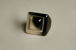 Plastic Cocktail Ring Large Bold Unique Vintage Jewelry Ring size 9 - $49.50