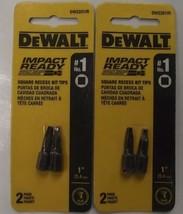 Dewalt DW2201IR #1 Square Impact Ready Drive Bits 2-2pks - $2.10