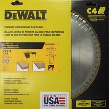 "Dewalt DW71060A5 10"" x 60 Tooth Premium Woodworking Saw Blade USA - $51.08"