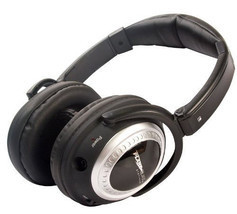 Plane Quiet Platinum Active Noise Canceling Stereo Headphones Air Travel... - $141.39 CAD