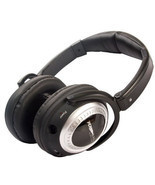 Plane Quiet Platinum Active Noise Canceling Stereo Headphones Air Travel... - $108.89