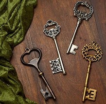 Antique Key Bottle Opener - Large - Unique Gift! - $16.99