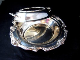 Vintage Silverplate Reed & Barton Serving Dish King Francis with Lid Cov... - $75.00