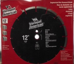 "Vermont American 28612 12"" Segmented Diamond Saw Blade Gen. Purpose Premium - $35.18"