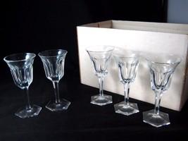 Moser Crystal Stemware 60 Pc Set of 12 Wine Water Cordial Tumbler - $3,500.00