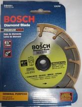 """Bosch DB4561 Prem Plus 4-1/2"""" Dry Cutting Laser Fusion Segmented Diamond Blade - $15.80"""