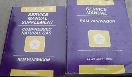 1996 DODGE RAM VAN WAGON Service Repair Shop Manual FACTORY OEM DEALERSHIP SET