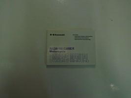 2001 Kawasaki Vulcan 1500 Classic Fi Owners Operators Owner Manual NEW - $54.44
