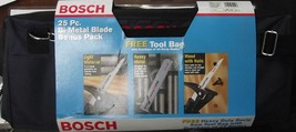 "Bosch BRBAGSHMS7 7"" 8/10 TPI Flush Cut Heavy Metal Recip Blades 25pcs With Bag - $44.53"