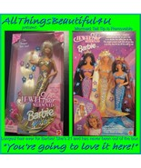 RARE! Mermaid Jewell Longest Hair Barbie Ever 1995 With Stars for Your H... - $69.78