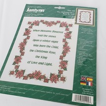 Janlynn Stamped Cross Stitch Kit The Christmas Rose 55-102 Instructions ... - $15.84