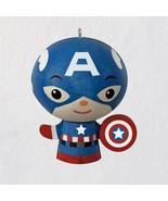 Hallmark 2018- Captain America Wood Ornament - $8.41