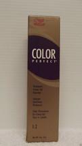 Original Wella Couleur Parfait Professionnel Permanent Crème Gel Cheveux... - $4.60+