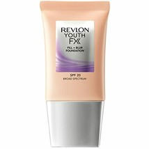 Revlon Youth Fx Fill + Blur Foundation, Ivory, 1 Fluid Ounce - $6.46