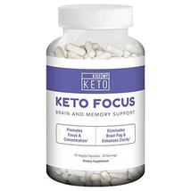 Kiss My Keto Brain Support Supplement - 90 Vegetable Capsules, Nootropic... - $29.99