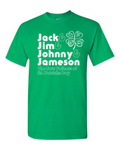 4 FATHERS of St Patrick's Day Jack Jim Johnny Jameson Men's Tee Shirt 1343 - €8,40 EUR+