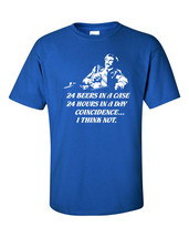 24 Beers in a Case 24 Hours in a Day Coincidence Will Ferrell  Men's Tee... - €8,40 EUR+