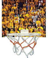 Custom Wastebasket Basketball Hoop Game Golden State Warriors Crowd - $11.54