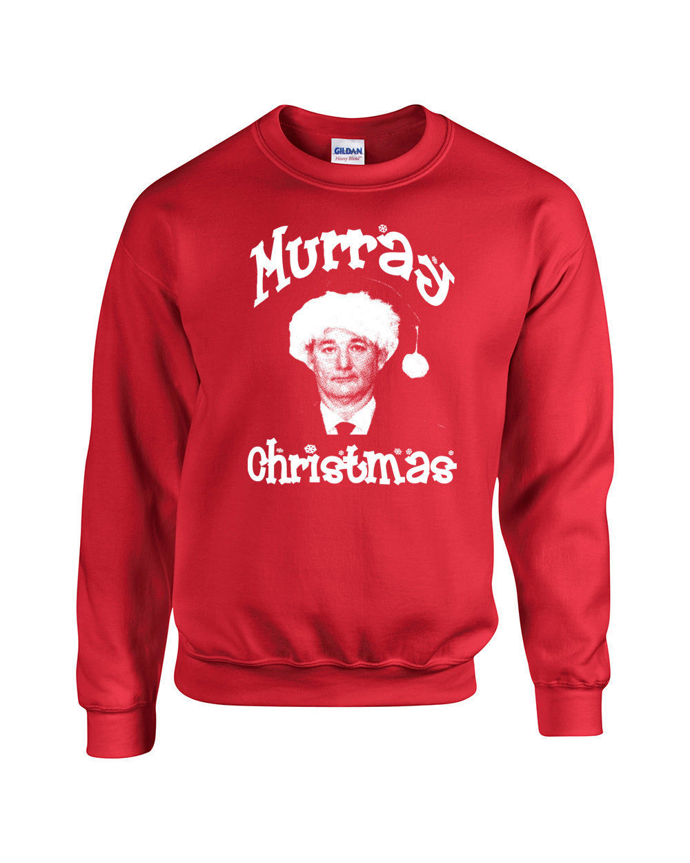 Murray Christmas Bill Merry XMas Holiday Retro Unisex Crew 530