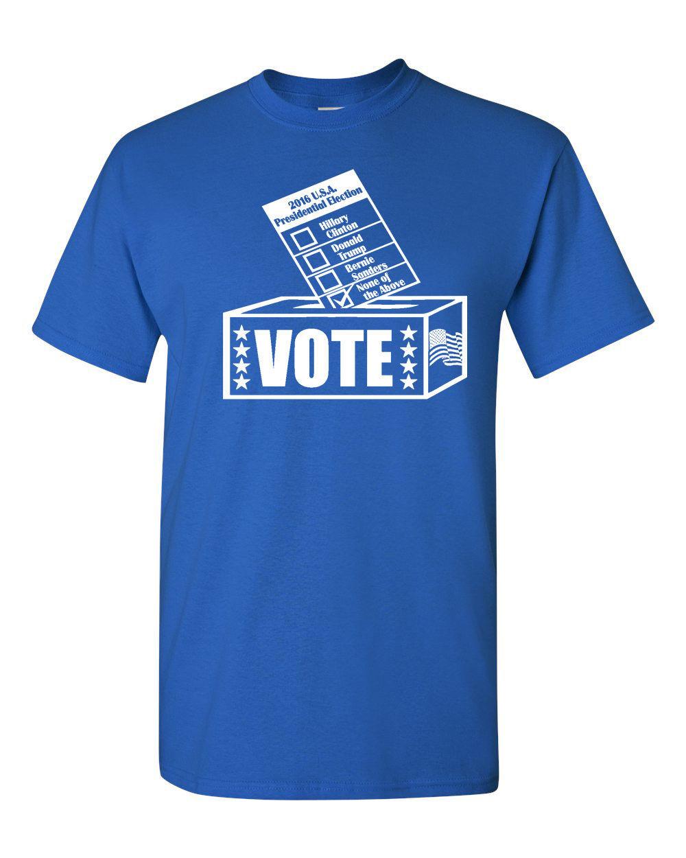 vote above shirt
