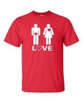 What Men Love and How Women Love Heart Sex Happy Funny Men's Tee Shirt 385 - €6,78 EUR+