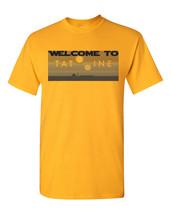 Welcome to Tatooine Desert Planet Star Wars Men's Tee Shirt 1309 - €11,81 EUR+