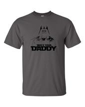 Who's Your Daddy DARTH VADER Darkside STAR WARS JEDI BLACK PRINT Men's T... - €8,40 EUR+